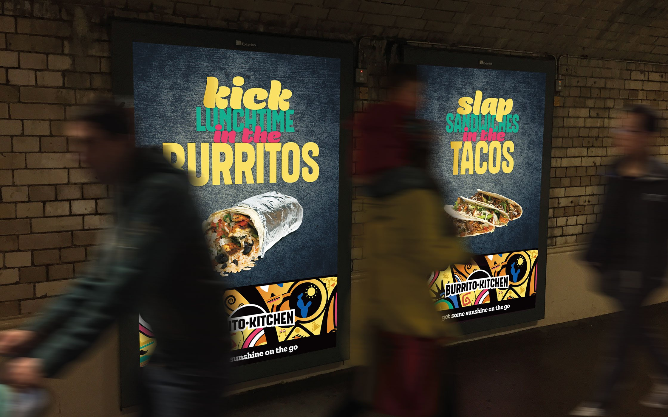 Brand awareness campaign for Burrito Kitchen