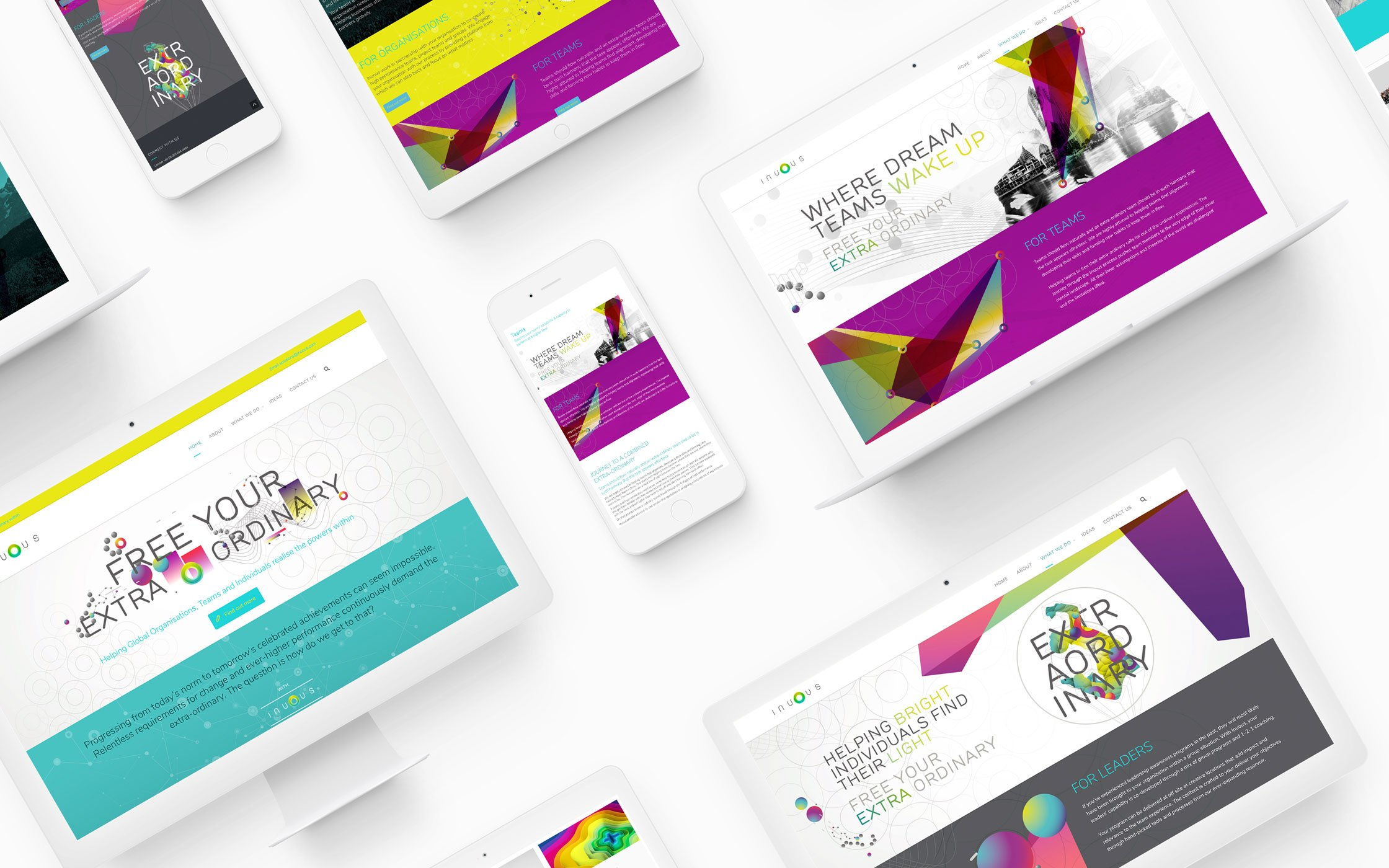 Responsive website -Inuous