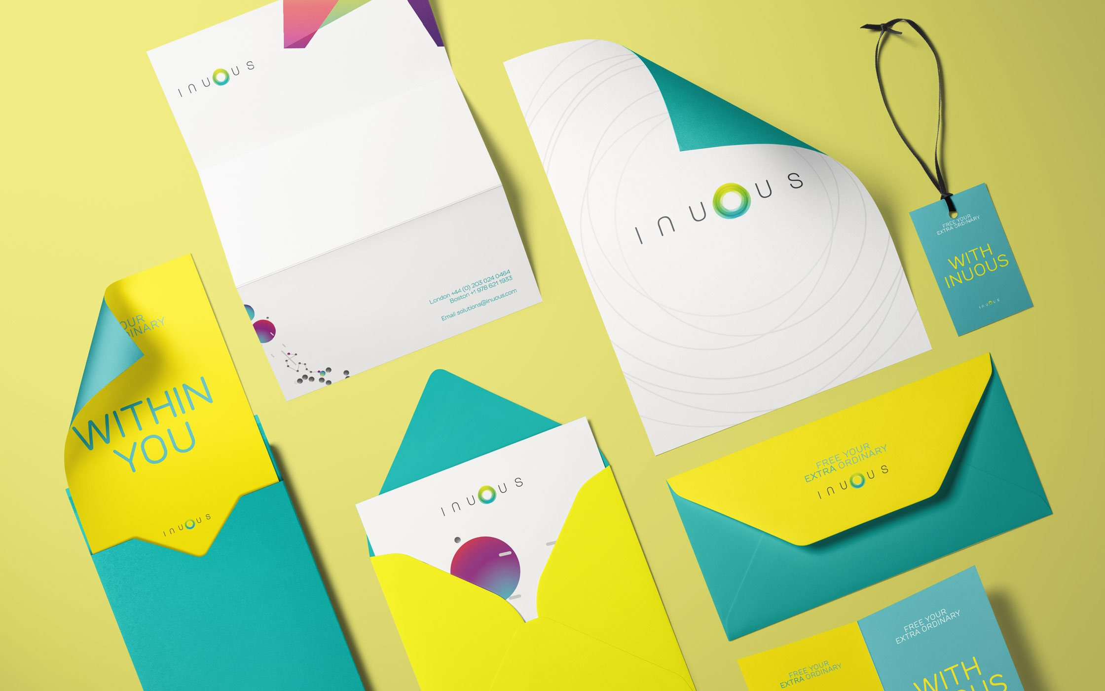 Inuous printed collateral
