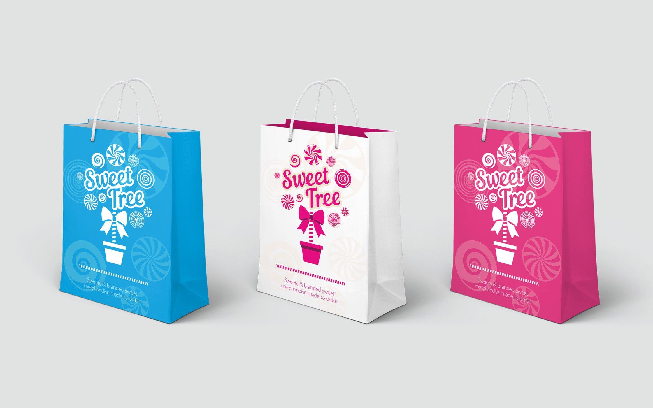 Sweet Tree branded bags