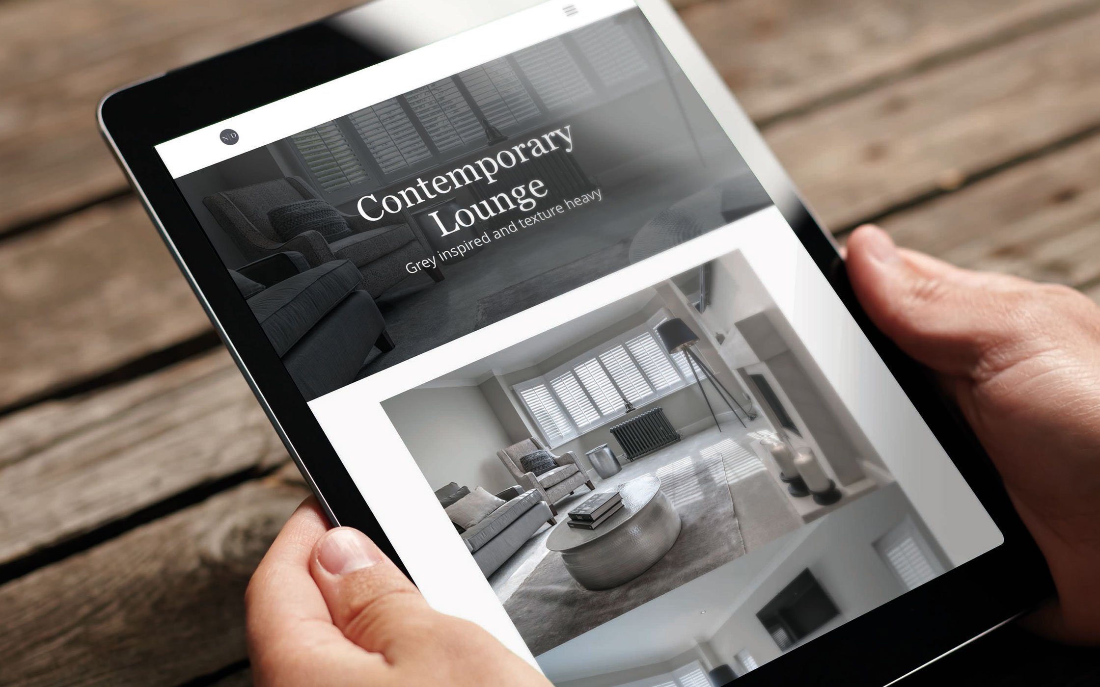 Responsive website - ND Interior Design